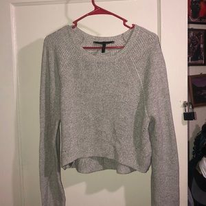 Comfy cropped sweater